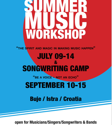 "#20 ""Musik Sommer 2018 – Workshops, Songwriting Camps, Workshops"""